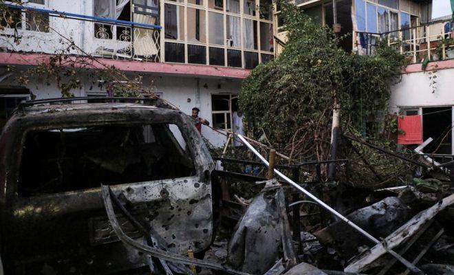 Serangan Roket Hantam Rumah Dekat Bandara Kabul