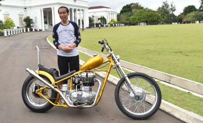 Motor Chopper Jokowi Hilang di LHKPN, Kemana?