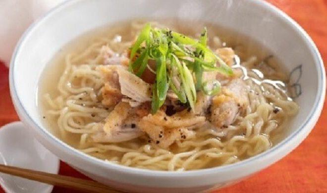 Resep Chicken Broth Soba ala KFC Jepang