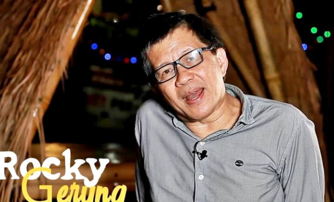 Rocky Gerung Ungkit Nama Jokowi Soal Konflik Lahan dengan Sentul City, Apa Hubungannya?