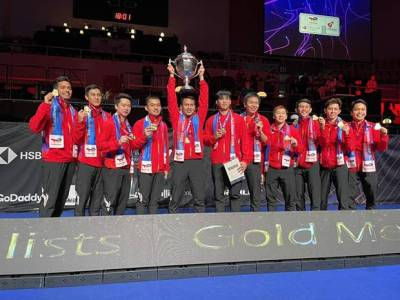 Indonesia Punya Kesempatan Tambah Gelar Thomas Cup Tujuh Bulan Lagi