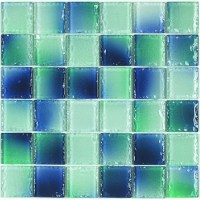 Glass Mosaic | Ombre Sea Glass