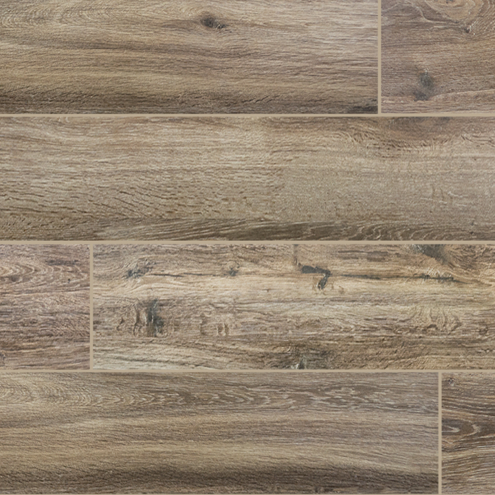 Wood Series Marrone 65x40 Wood Plank Porcelain Tile