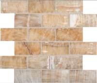 Honey Onyx 2x4x8mm Backsplash