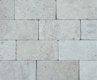 Light Brick Travertine   3x6