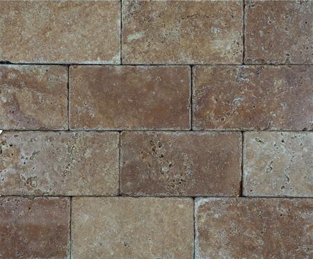 Noce Premium Brick Travertine