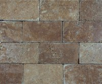 Noce Premium Brick Travertine
