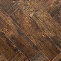 Redwood Mahogany 6x24 Wood Plank Porcelain Tile