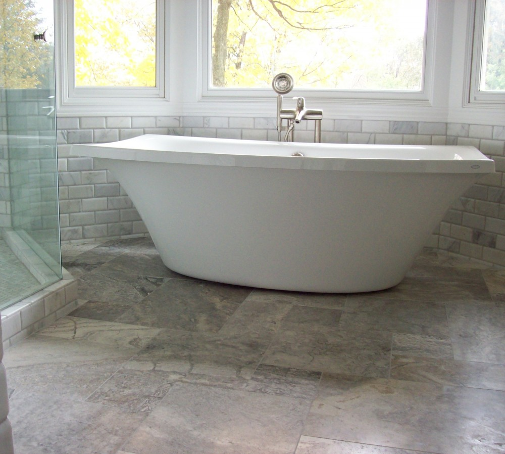 pewter travertine honed stone tile