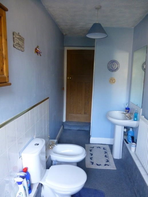 Long Narrow Bathroom Design  Earley  Tile And Bathroom Place