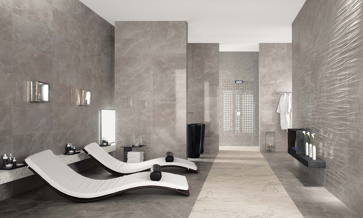 Marvel Pro Grey Fleury  Tile  Stone Gallery