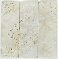 Travertine Ivory Tumbled Subway  Tile & Stone Gallery