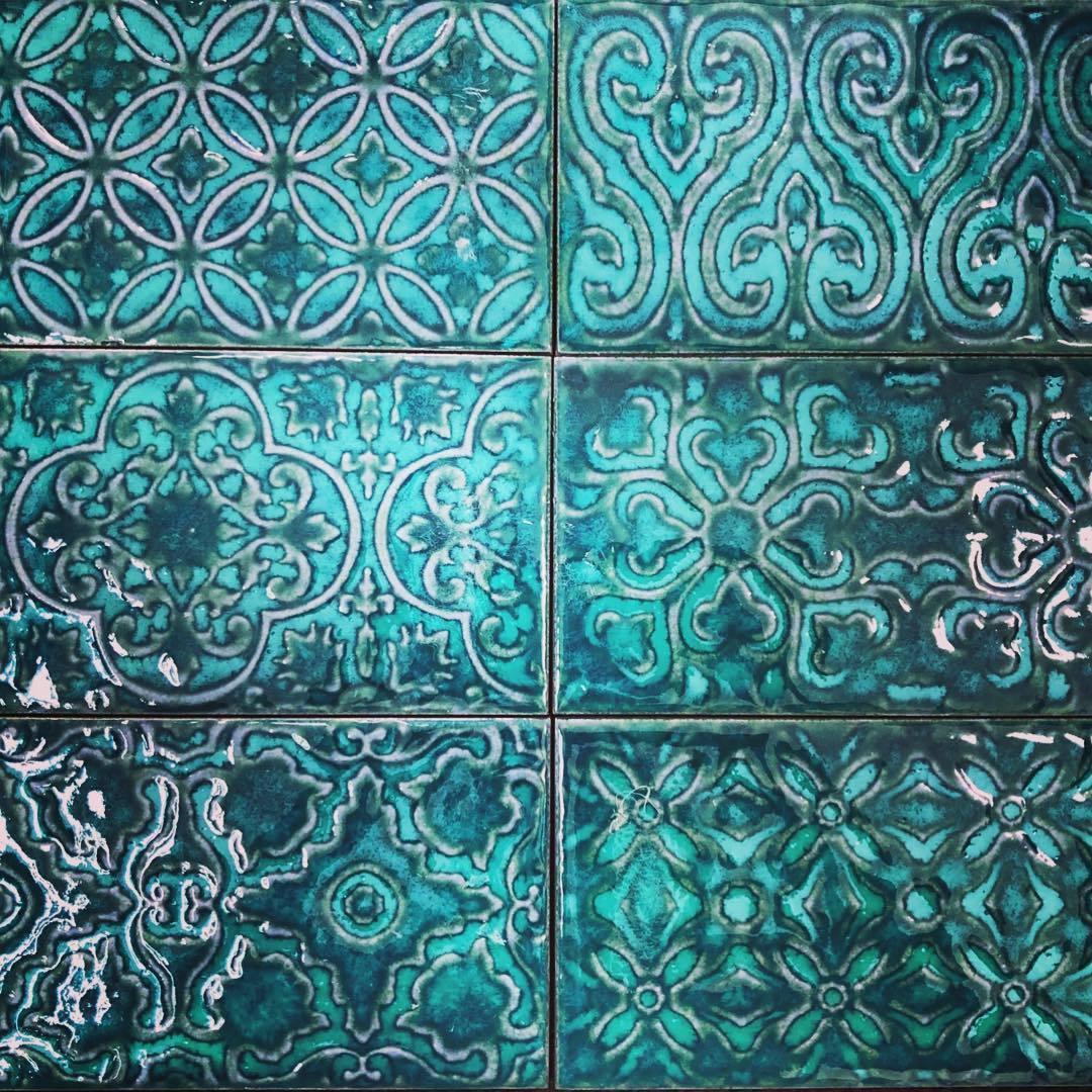 Zurbaran Turquesa Feature Subway  Tile  Stone Gallery