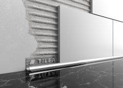 metal tile trim tileasy
