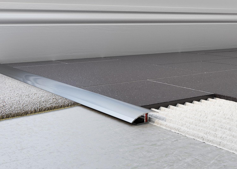 Tile To Carpet Trim 20mm  Carpet Vidalondon