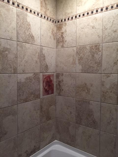 bathroom tile mural tile by design