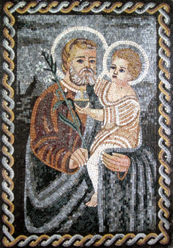 Religious Mosaic Designs