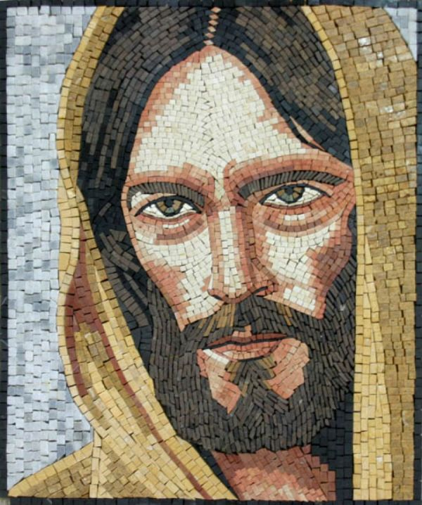 Jesus Christ Religious Mosaics