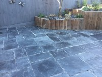 Restoring a Riven Slate Patio Suffering from Grout Haze in ...