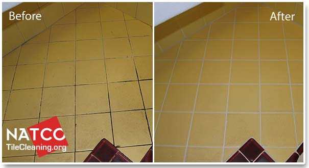 How To Regrout A Tile Countertop