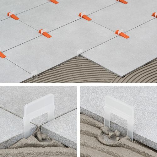 raimondi 1 5 mm tile leveling system 3d clip starter kit 75 clips 75 wedges 1 pair pliers code 180kit3d