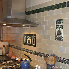 kitchen design layouts hotel rooms with kitchens decorative tiles. art deco, arts and crafts, nouveau ...