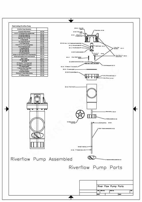 Riverflow Pump