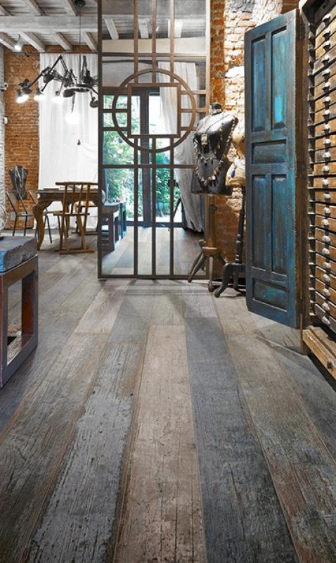 Blendart Wood Plank Tile Mix
