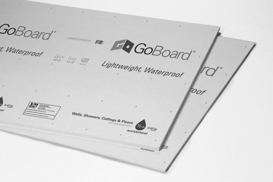 Goboard Tile Backer Board