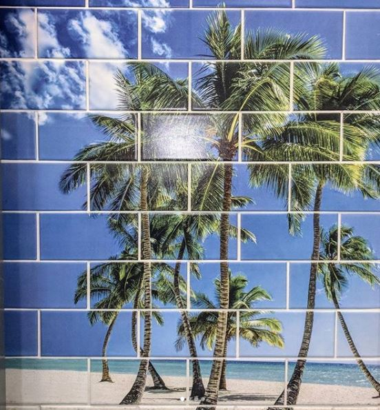 tile murals any size tile fire