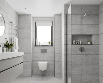 Ideas For Installing Bathroom Tiles Ptemplates