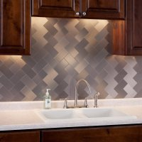 Stainless Steel Backsplash Tiles | The Tile Home Guide