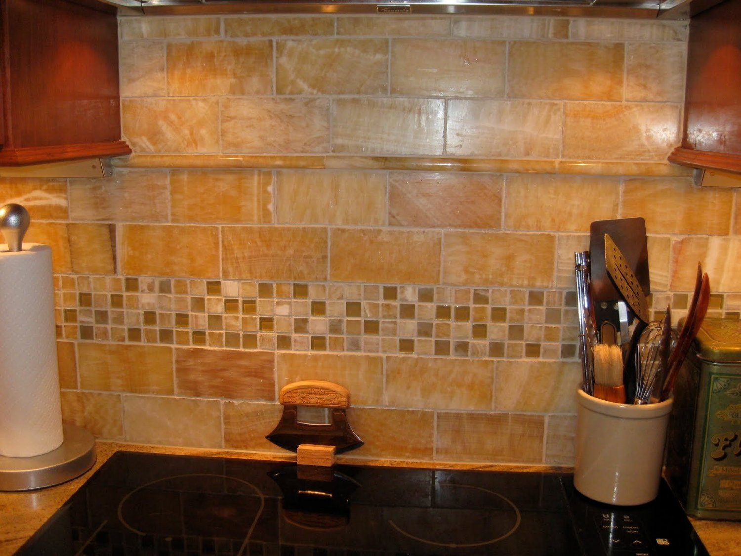 onyx kitchen backsplash wall pictures tile the home guide