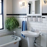 30 black and white bathroom tiles in a small bathroom ...