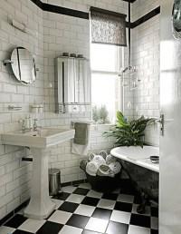 checkerboard bathroom floor - 28 images - checkered ...
