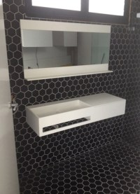 24 black and white hexagon bathroom tile ideas and ...