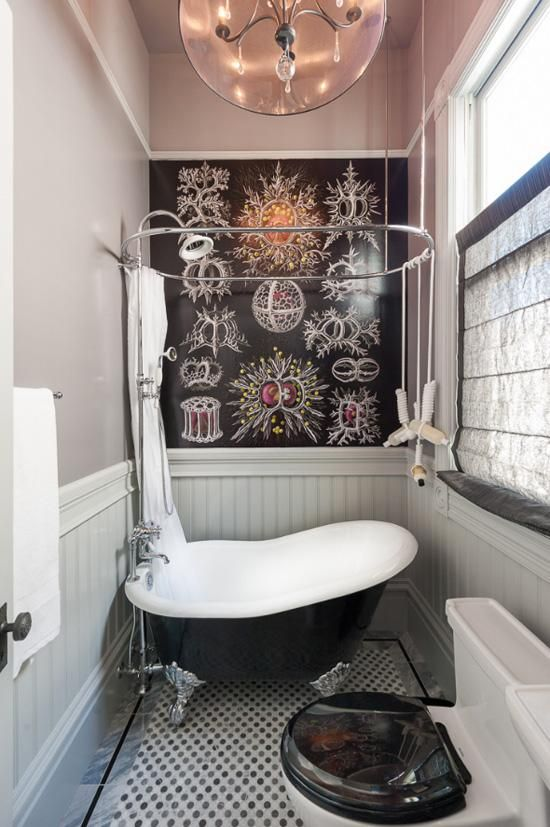 25 Black And White Victorian Bathroom Tiles Ideas And Pictures 2019