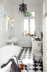 36 black and white vinyl bathroom floor tiles ideas and