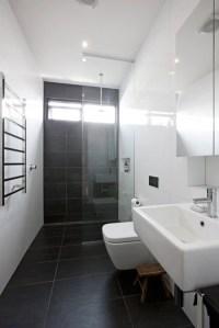 Black Bathroom Floor Tiles