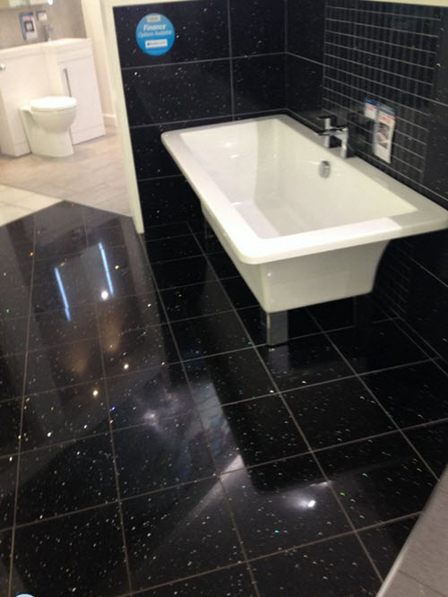 29 Black Bathroom Tiles With Glitter Ideas And Pictures