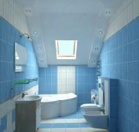 Bathroom Tiles Blue And White