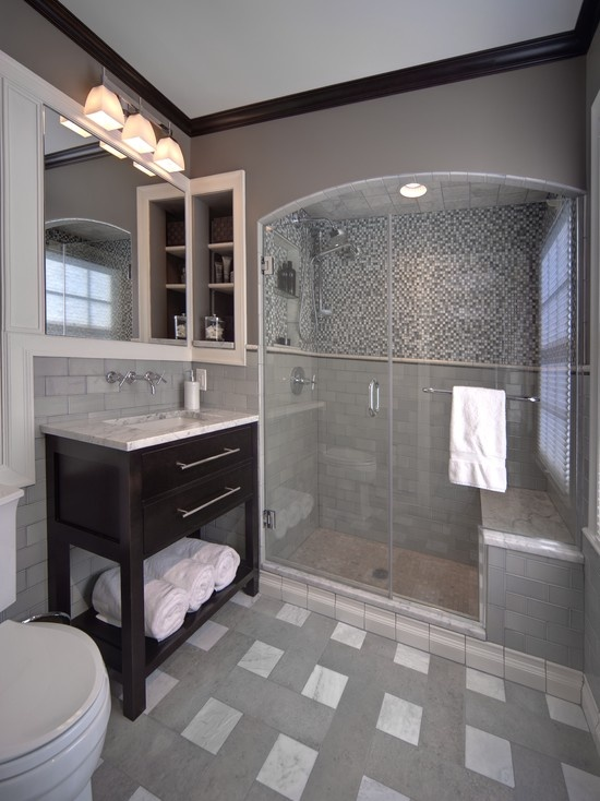 title | Grey And White Bathroom Tile Ideas