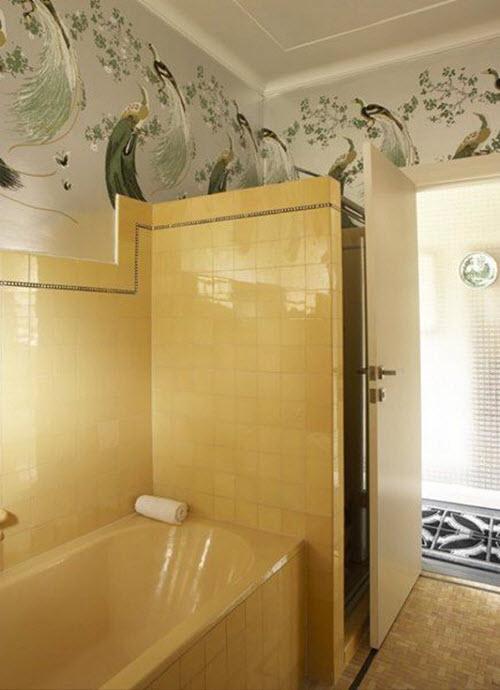 Bathroom Tiles Yellow