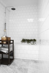 29 white marble bathroom floor tile ideas and pictures