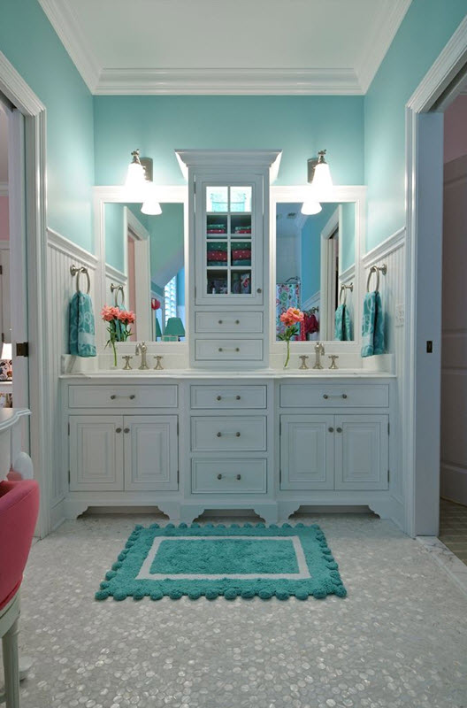 Blue And Beige Bathroom Ideas