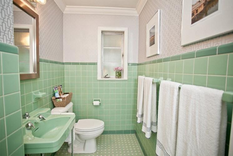 1950 bathroom tile home architec ideas