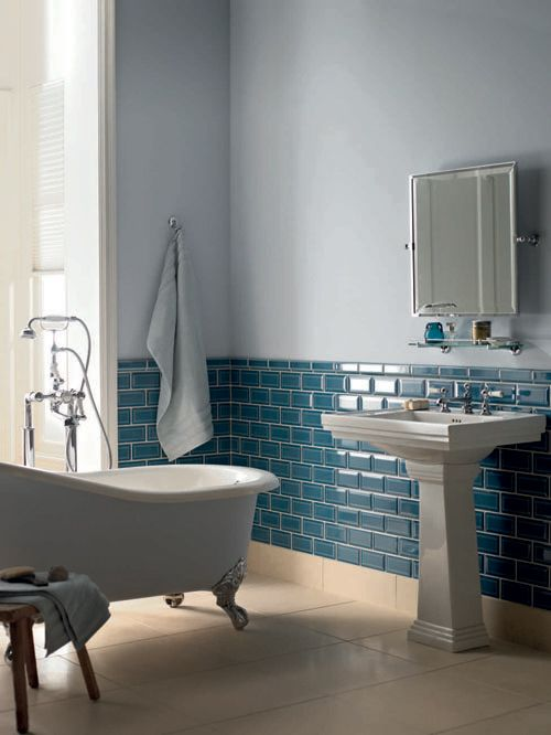40 blue glass bathroom tile ideas and pictures 2019