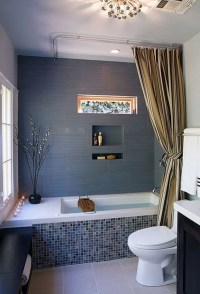 Gray And Blue Bathroom | www.imgkid.com - The Image Kid ...