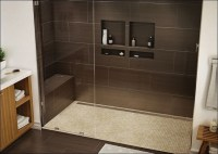 40 chocolate brown bathroom tiles ideas and pictures