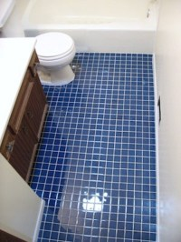 Blue Bathroom Floor Tiles : Lastest Purple Blue Bathroom ...